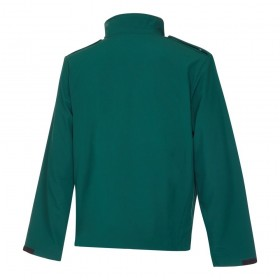 Bottle Green Ambulance Soft Shell Jacket
