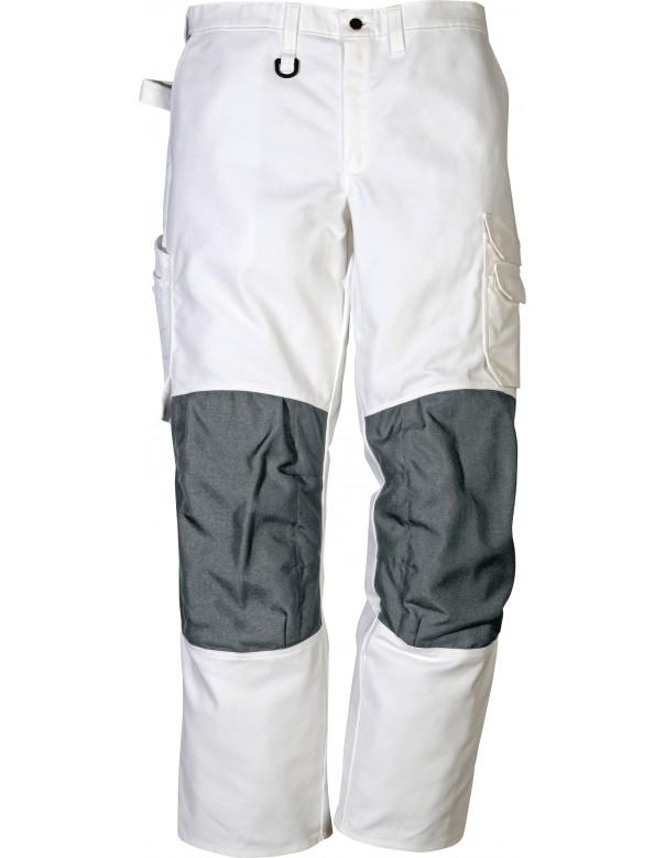 men's white decorator's workwear trouser