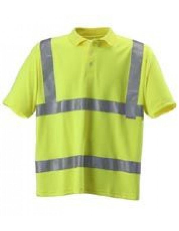 hi vis safety polo shirts
