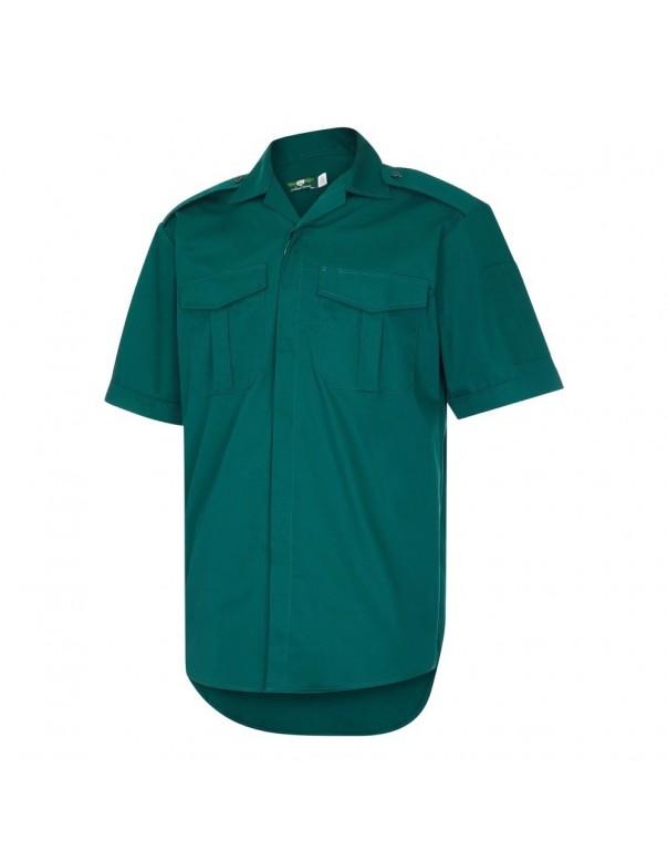 Bottle Green Short Sleeve Ambulance Shirt