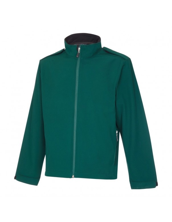 Bottle Green Ambulance Soft Shell Jacket