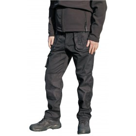 black and grey workman trousers