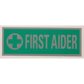 large first-aider heatseal