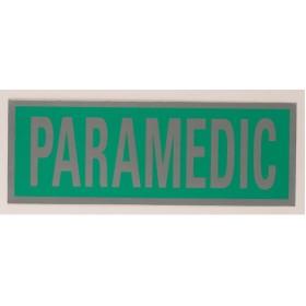 small paramedic heatseal badge