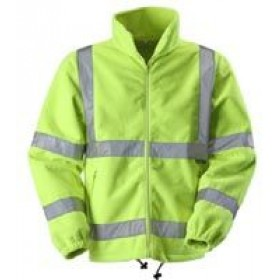 yellow Hi Vis Fleece