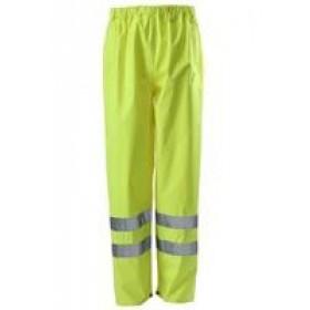 men's yellow hi vis work trousers