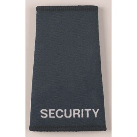 security slider epaulettes