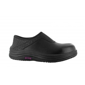 dahlia ladies lace up shoe black colour