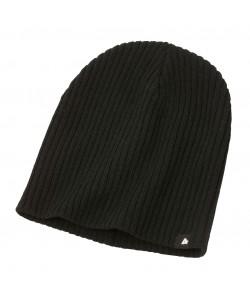 black woolly hats