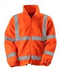 orange Hi Vis Fleece