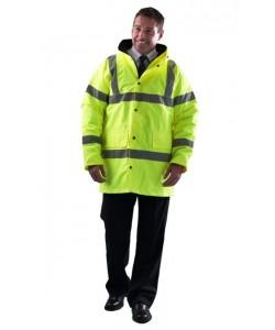 mens hi vis workwear jackets