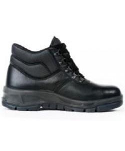 men's safety chukka boots black