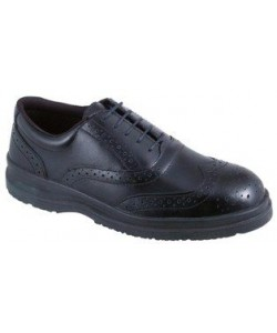 brogue work shoes