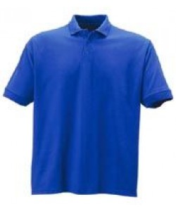 blue polo shirts