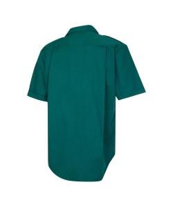 Unisex Bottle Green Short Sleeve Ambulance Shirt