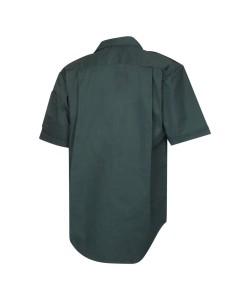 Unisex Dark Green Short Sleeve Ambulance Shirt