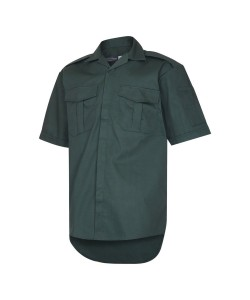 Dark Green Short Sleeve Ambulance Shirt