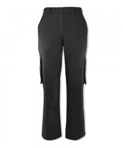 Female Black Cargo Trousers