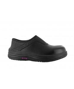 dahlia ladies lace up shoe black colour