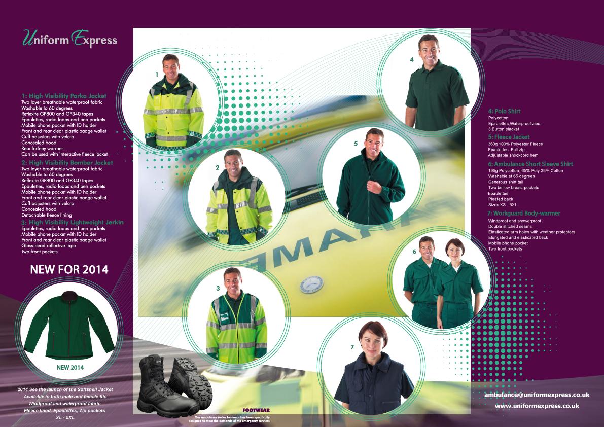 Paramedic Uniform Ambulance Uniform Design Uniform Express