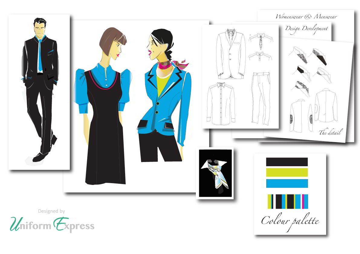 Bespoke uniform designs from Uniform Express